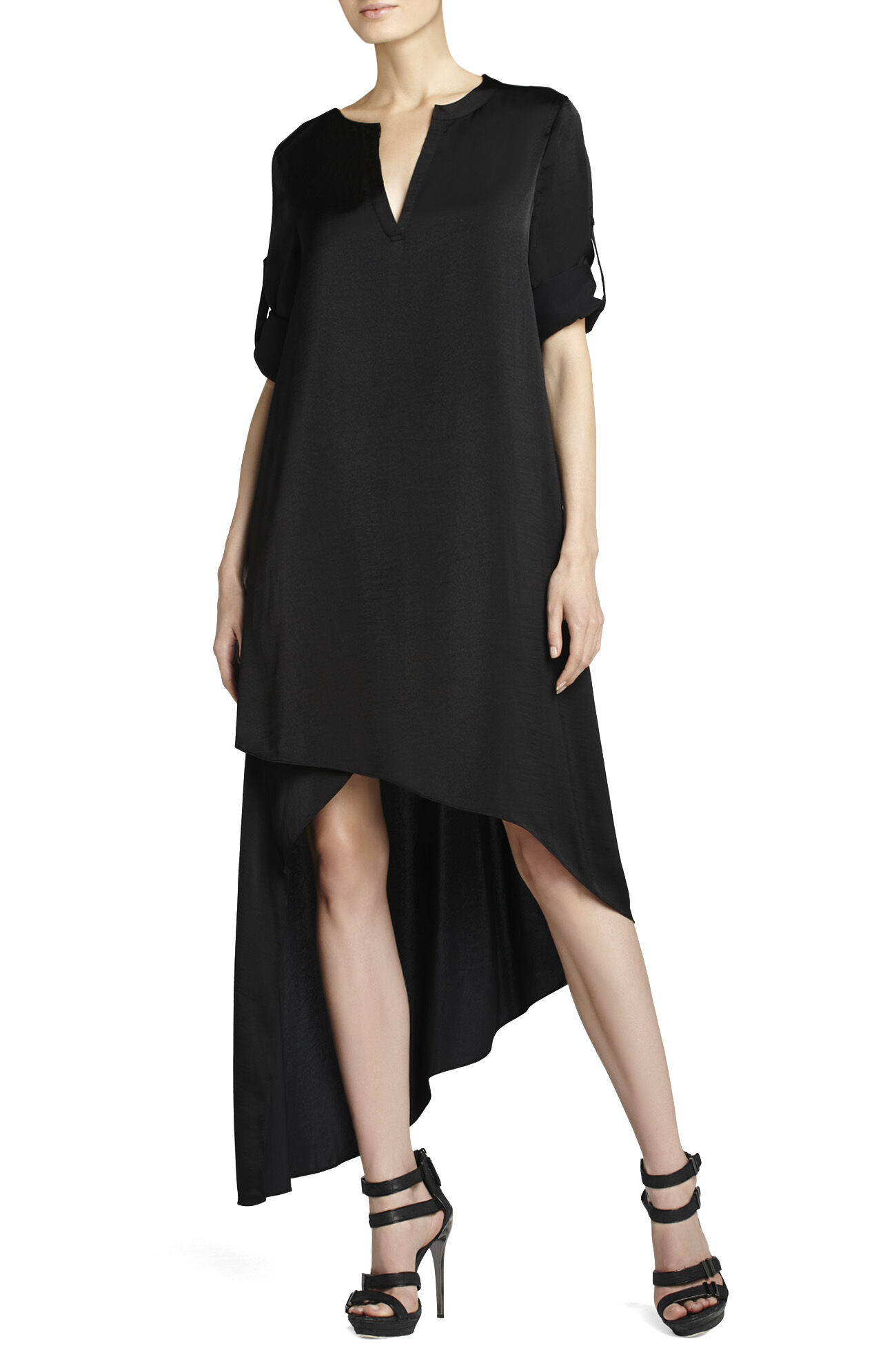 Eddie Asymmetrical Hem Dress