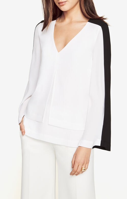 Zola Color-Blocked Top