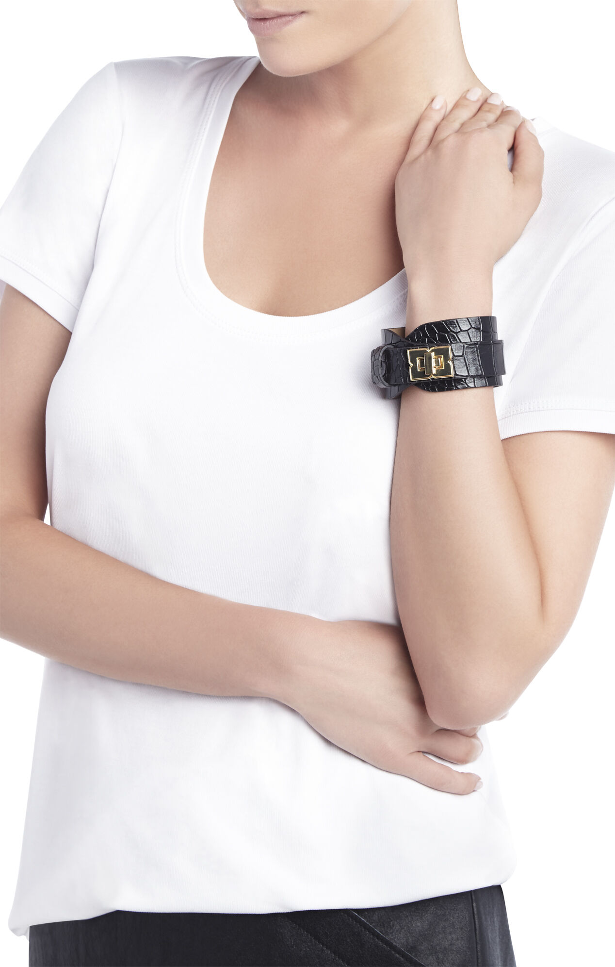 Icon Turn-Lock Wrap Bracelet