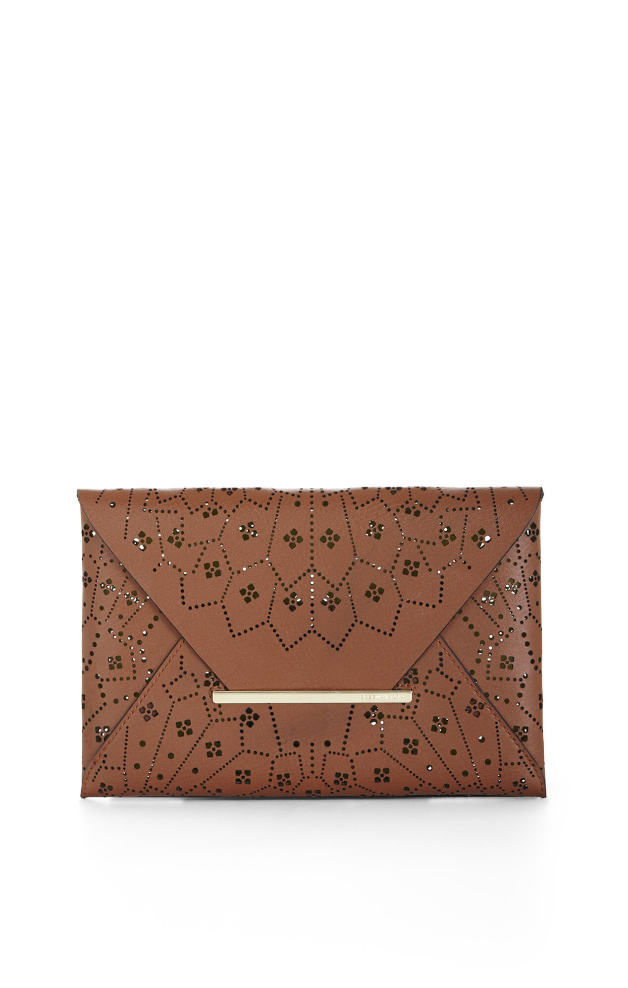 Harlow Lasercut Envelope Clutch