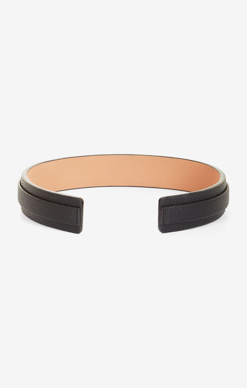 Faux-Leather Waist Belt
