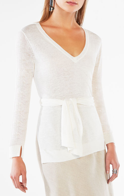 Damitra High-Low Sweater