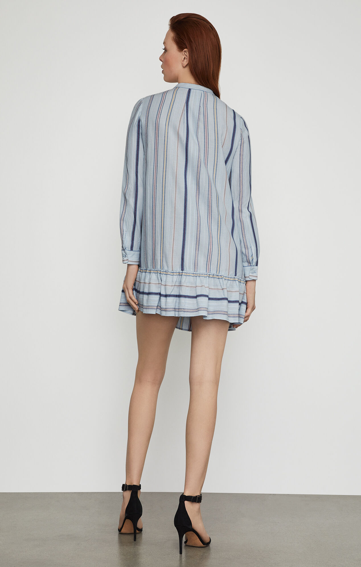 Lucile Striped Shirt Dress