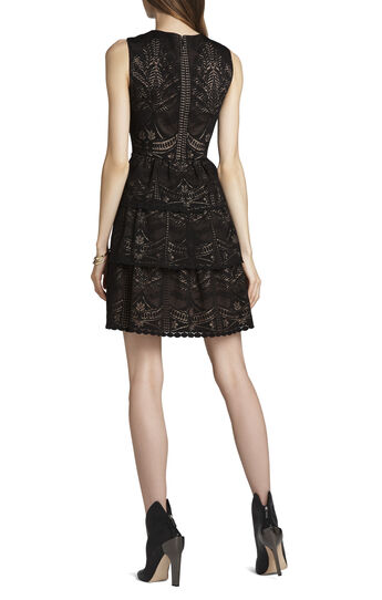 Scarlett Tiered Eyelet Dress