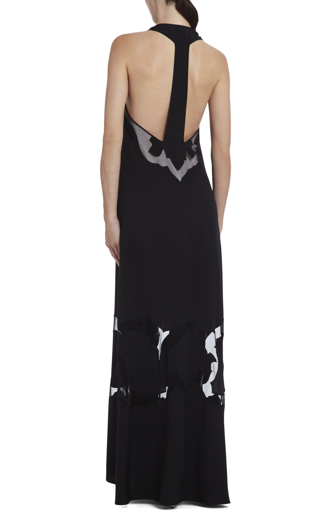 Runway Perla Blocked-Design Dress