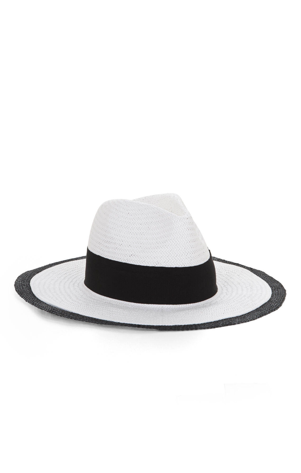 Sheer-Edged Panama Hat