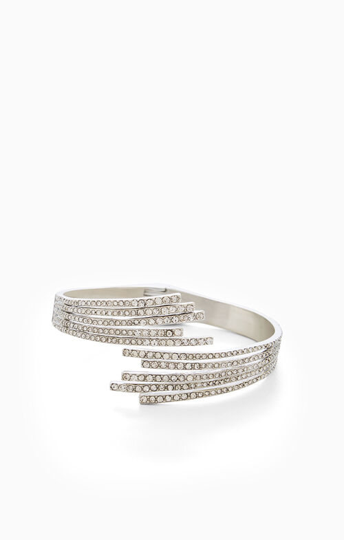 Starburst Stone Cuff Bracelet