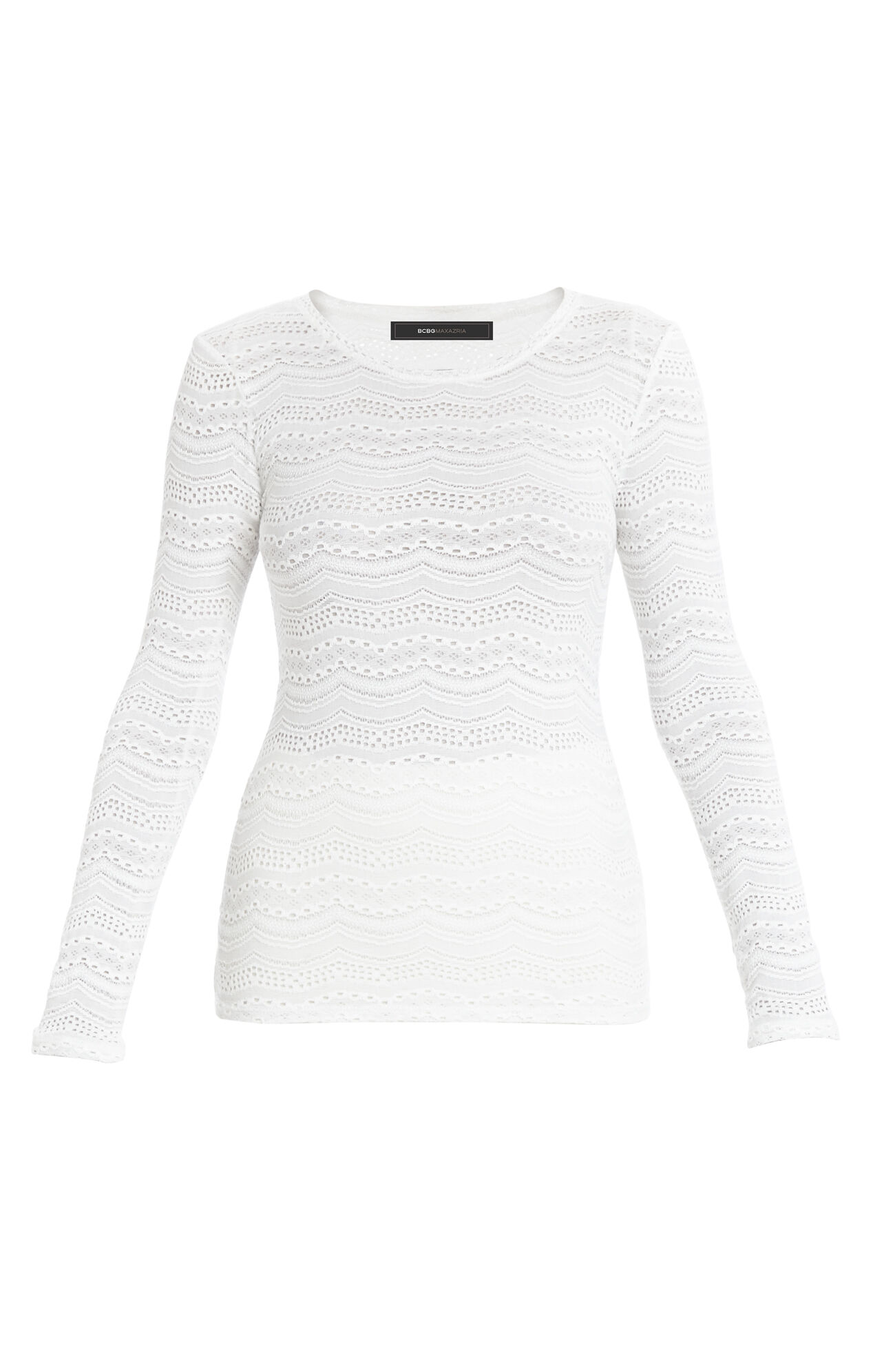 Fae Lace Long-Sleeve Top