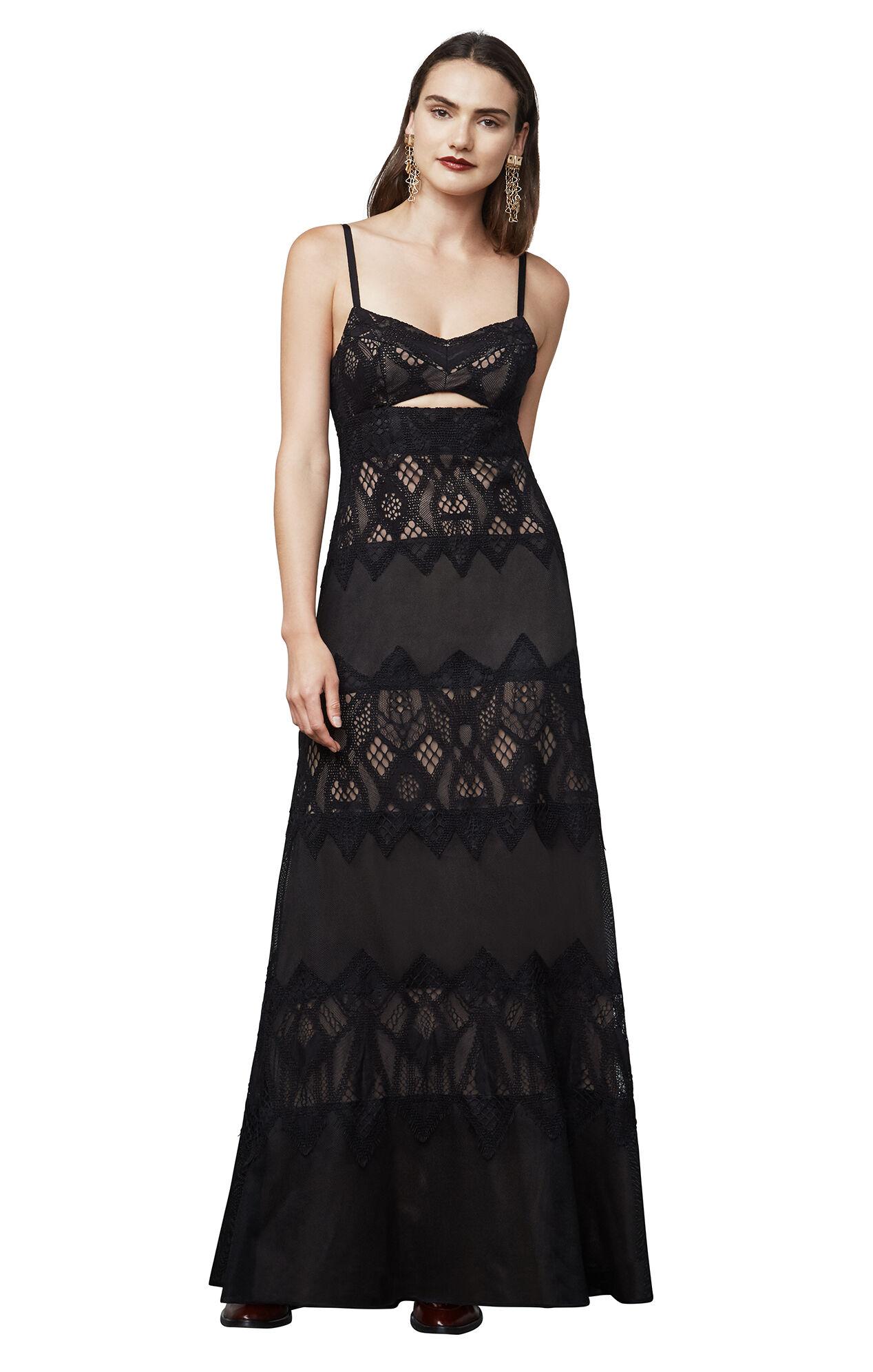Bcbg green lace dress