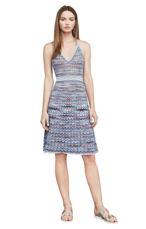 Jenn Chevron A-Line Dress