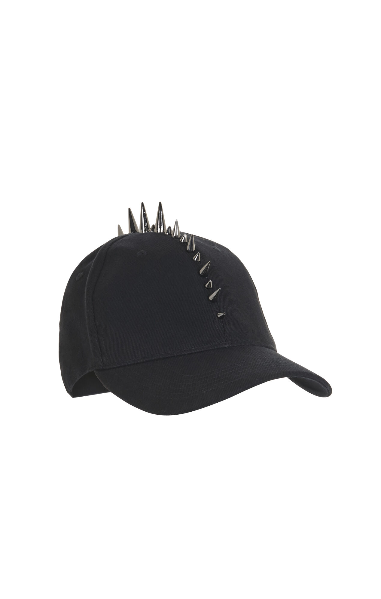 Mohawk-Studded Baseball Hat