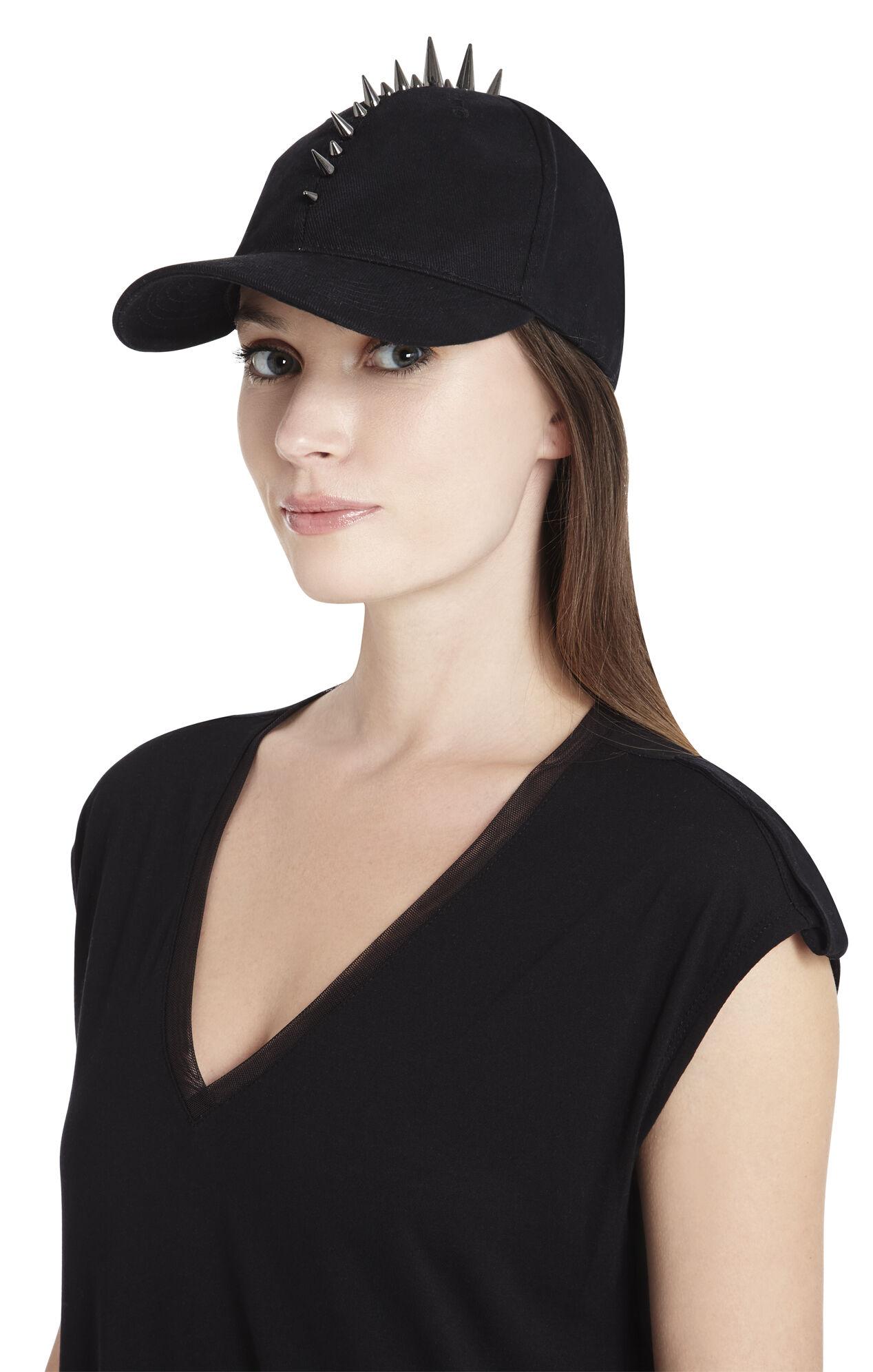 Mohawk-Studded Baseball Hat
