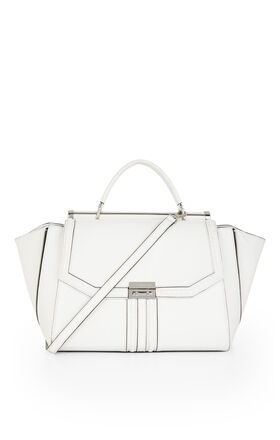 Allie Whip-Stitch Satchel