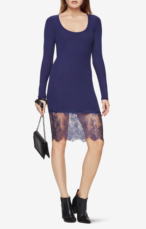 Livi Lace-Hem Dress