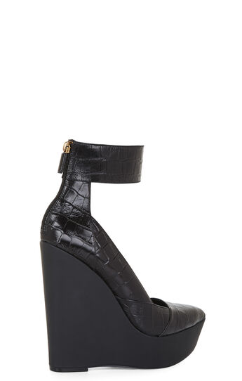Arcade Cuffed-Ankle Wedge Platform