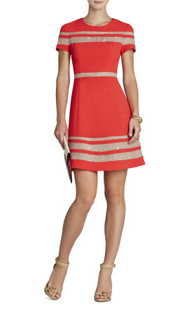 Kalli Lace-Insert Dress