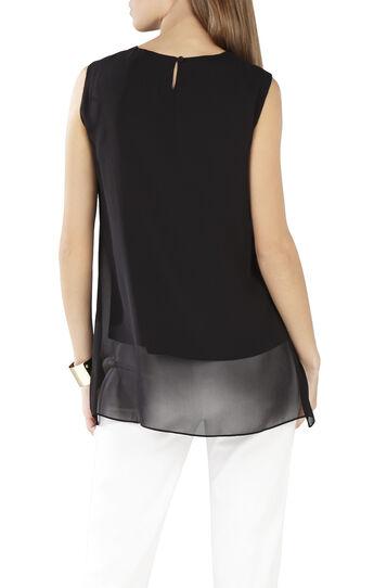 Lorielle Asymmetrical Drape Top