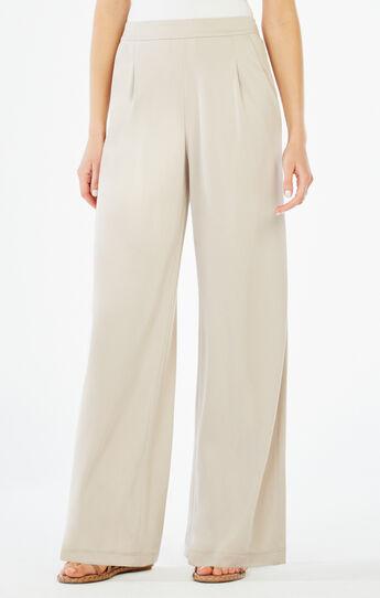 Michela Wide-Leg Jersey Pant