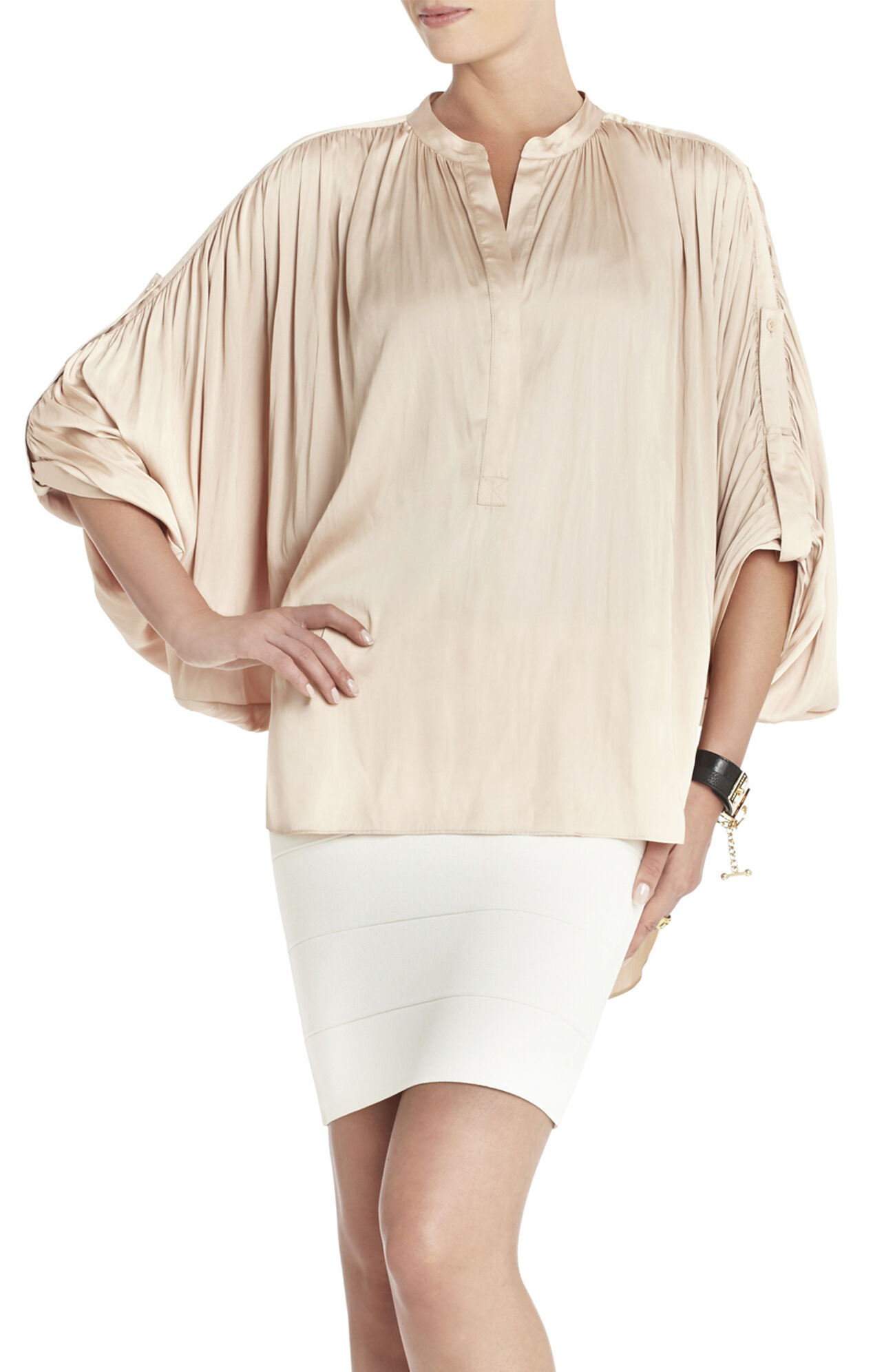 Seraphina Shirred Top