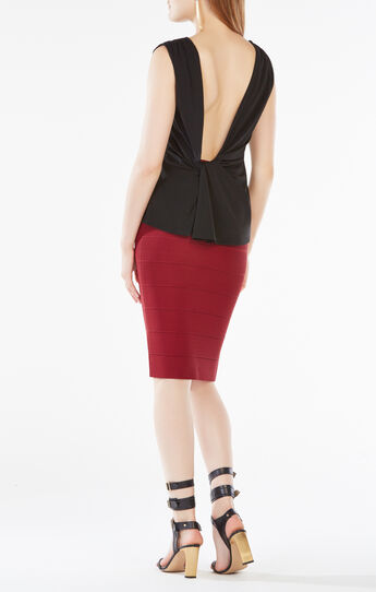 Thera Open-Back Jersey Top