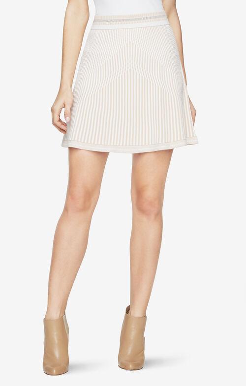 Alisse Knit Jacquard Skirt