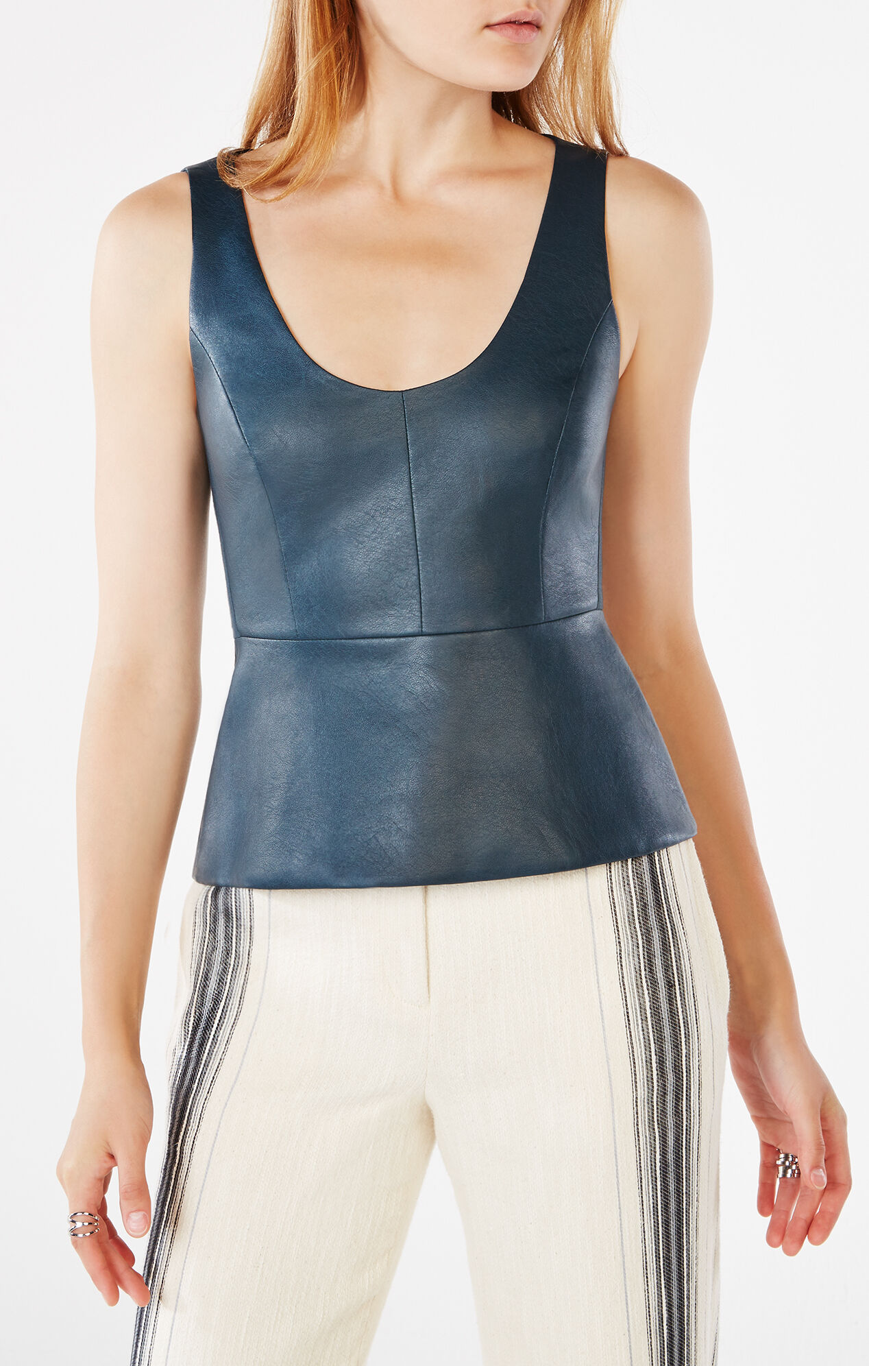 Shop womens peplum tops at dexterminduwi.ga Free Shipping and Free Returns for Loyallists or Any Order Over $! Skip to Content. Embroidered Faux Leather Peplum Top. Orig. $ Now $ (56% OFF) Ted Baker. Bubbl Ruffled Peplum Top. $ BCBGMAXAZRIA. Tori Faux-Leather Front Peplum Top.
