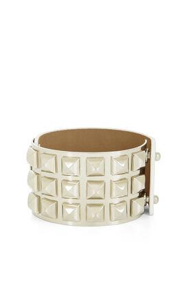 Pyramid-Plated Bracelet