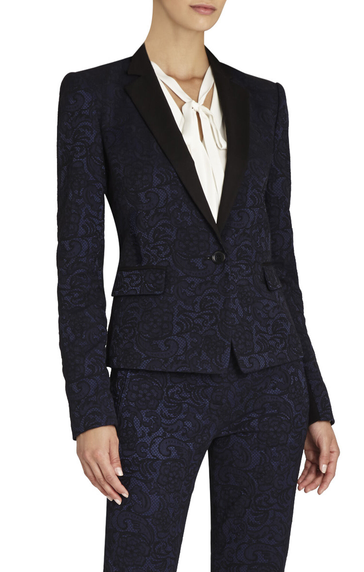Philipe Floral Lace Jacket