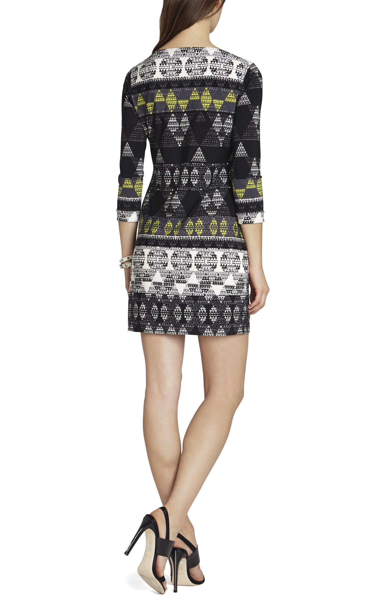 Calico Printed Shift Dress