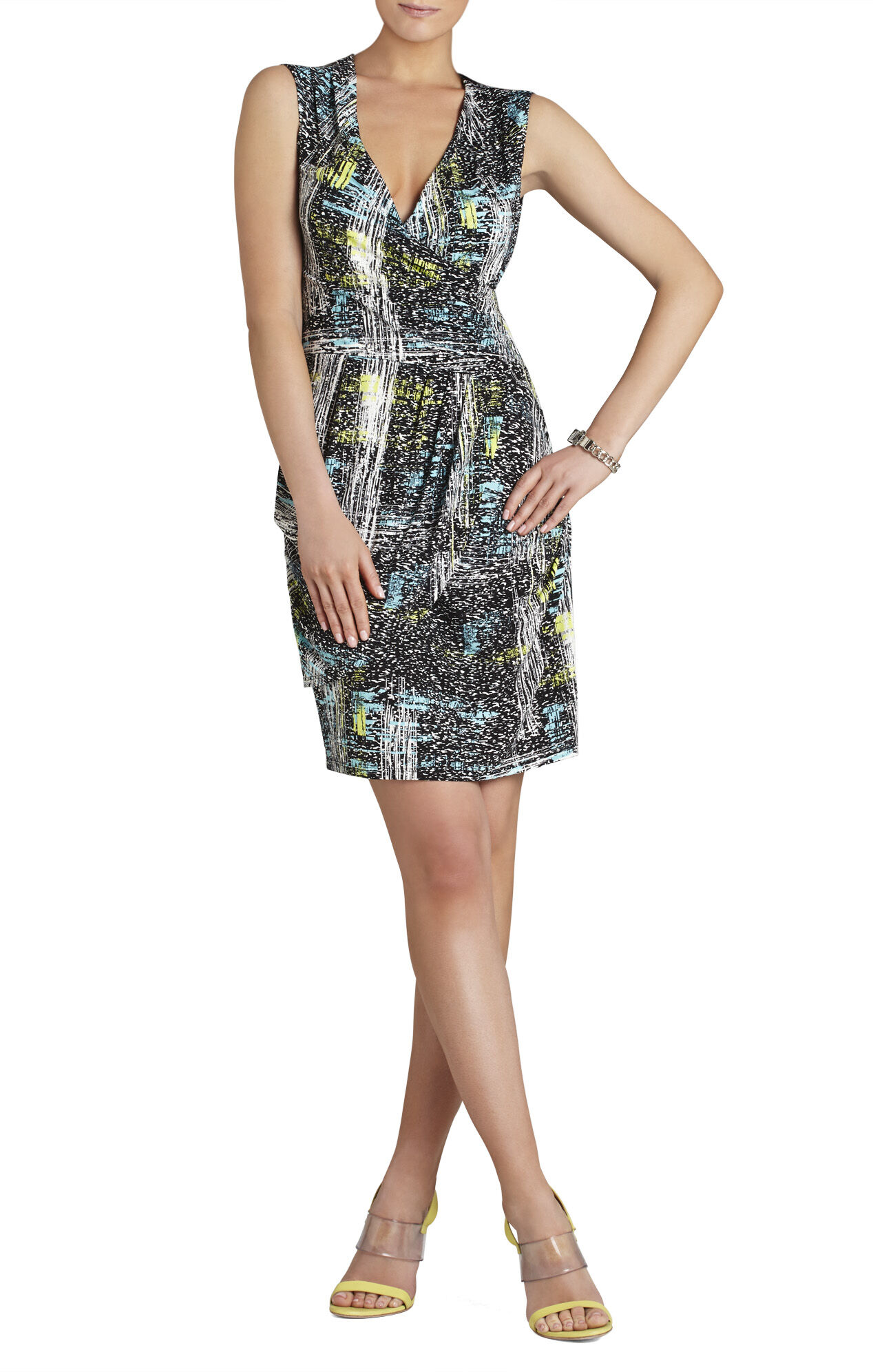 Astair Layered Wrap Dress