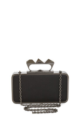 Zoe Knuckle-Duster Clutch