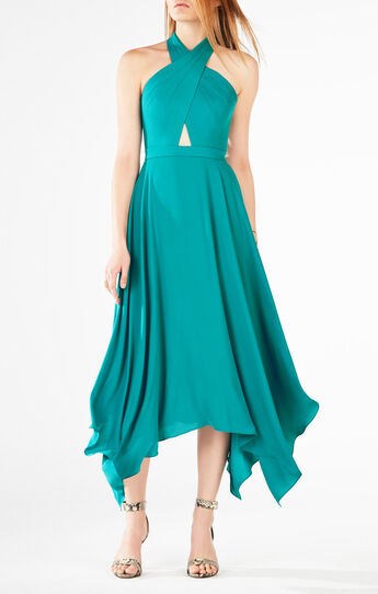 Annmarie Cutout Asymmetrical Dress