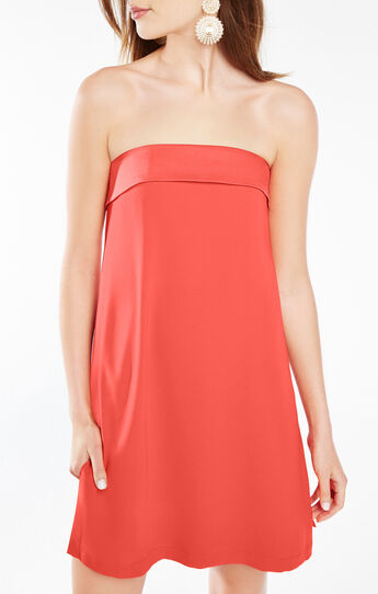 Amii Strapless A-Line Dress