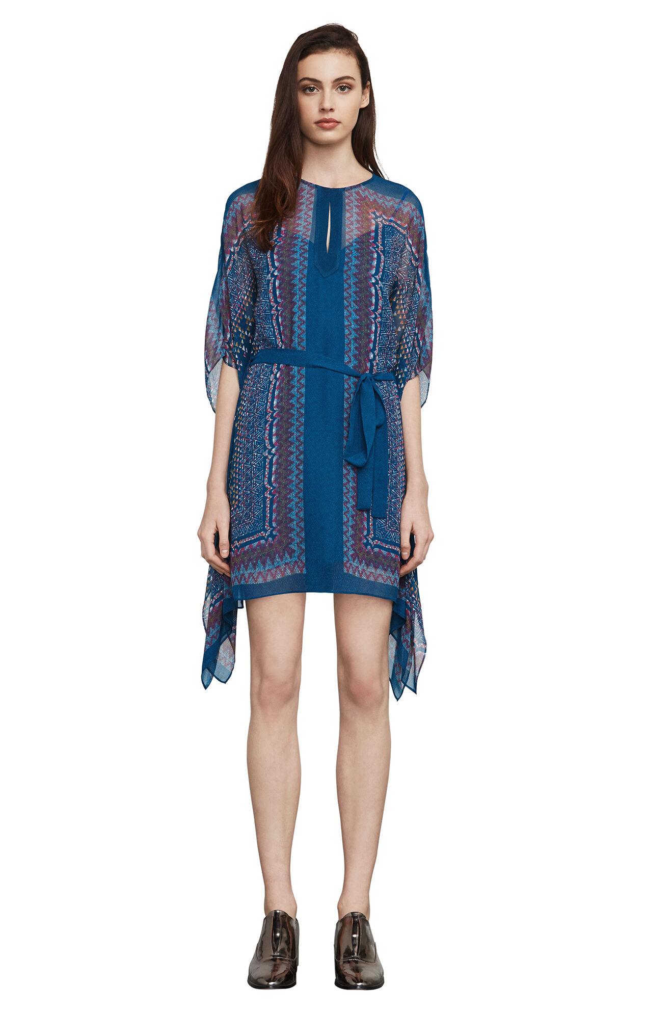 Inesa Tapestry-Print Dress