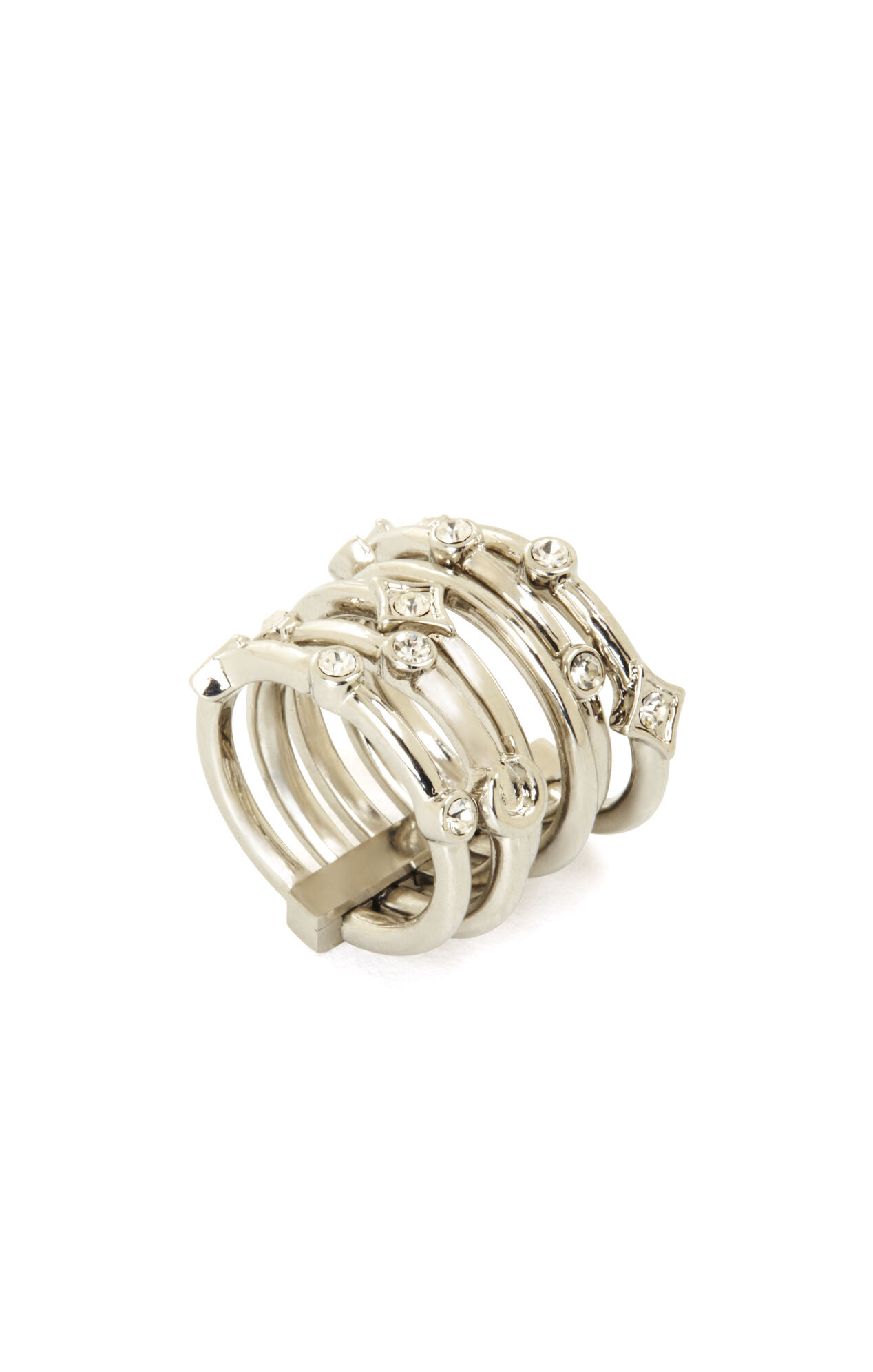Layered Charm Ring