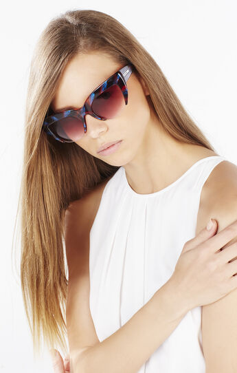 Cutoff Cat-Eye Sunglasses