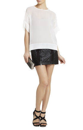 Mireya Relaxed Silk T-Shirt