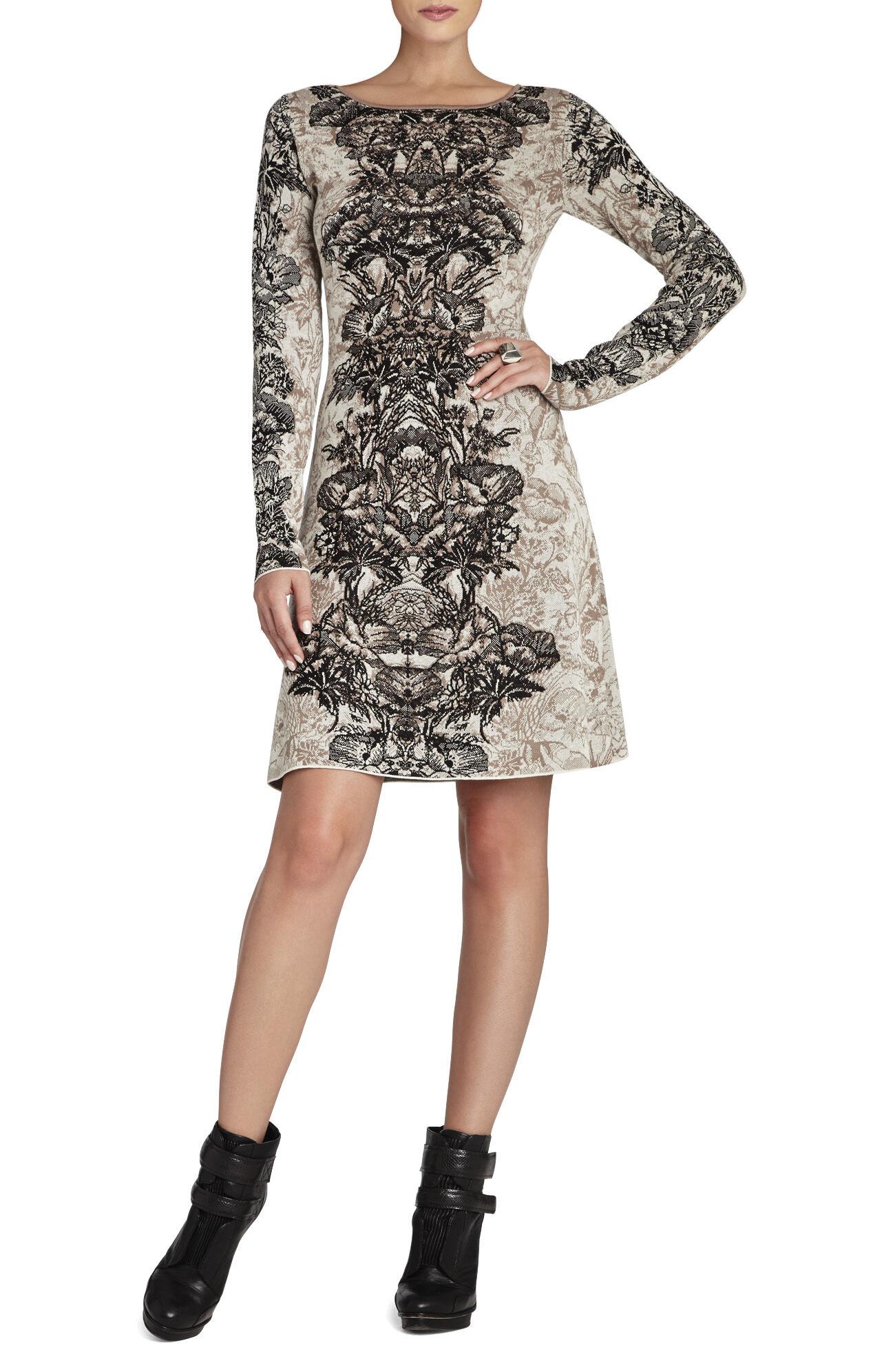 Regan Etched Floral Dress