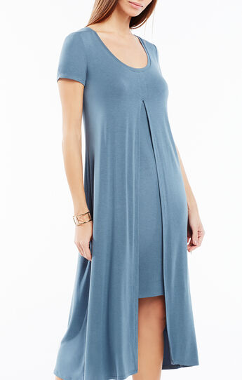 Audreigh Layered Midi Dress