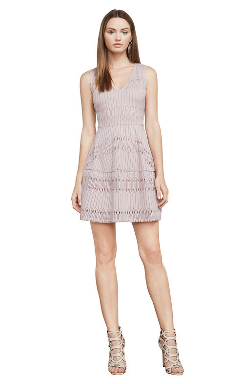 Amberly Sleeveless Lace Dress
