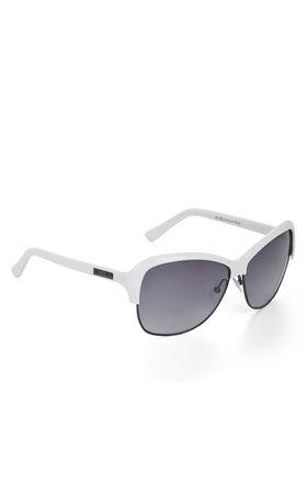 Oversized Plastic Brow Sunglasses