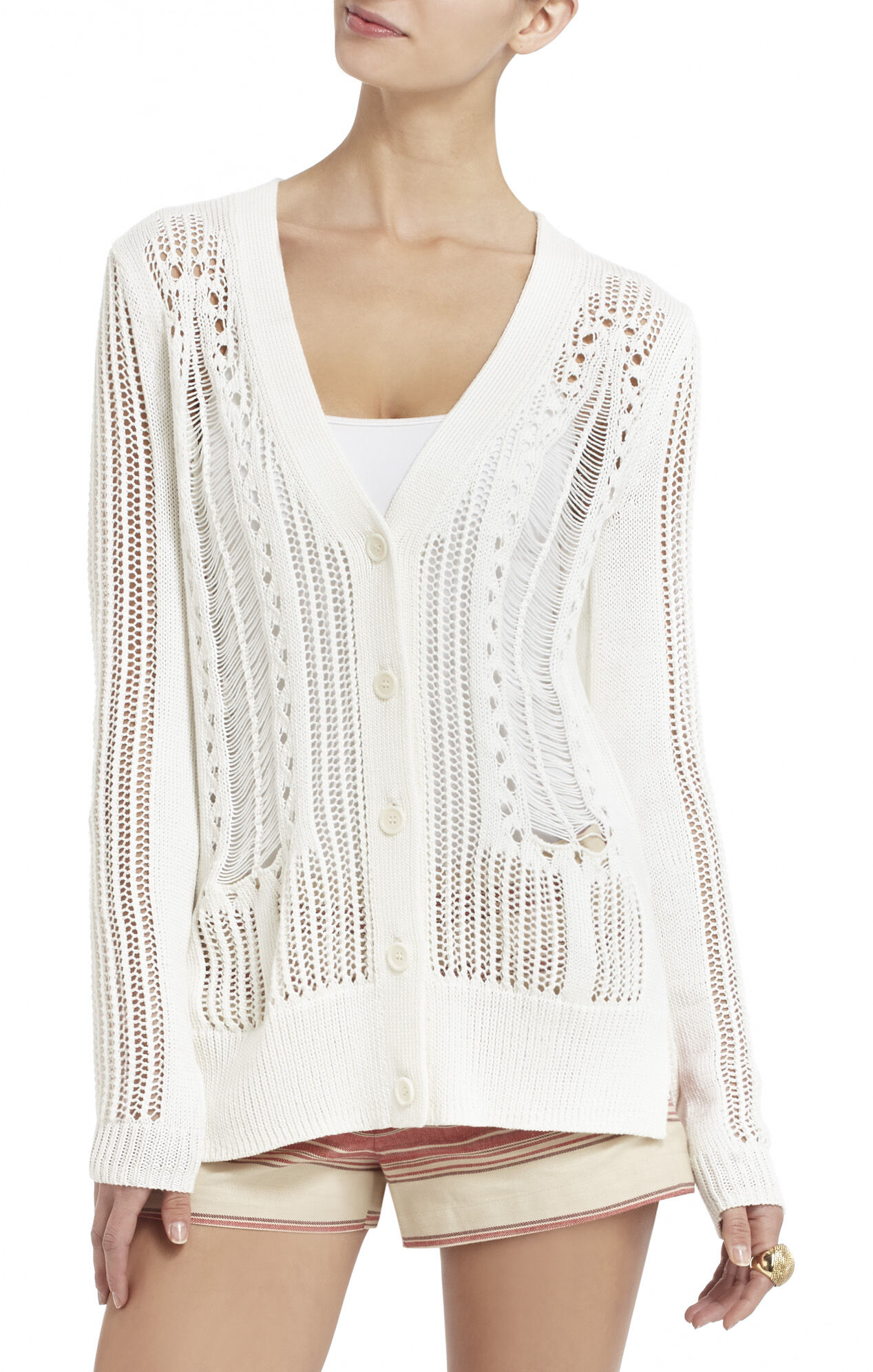Kiril Drop-Needle Cardigan