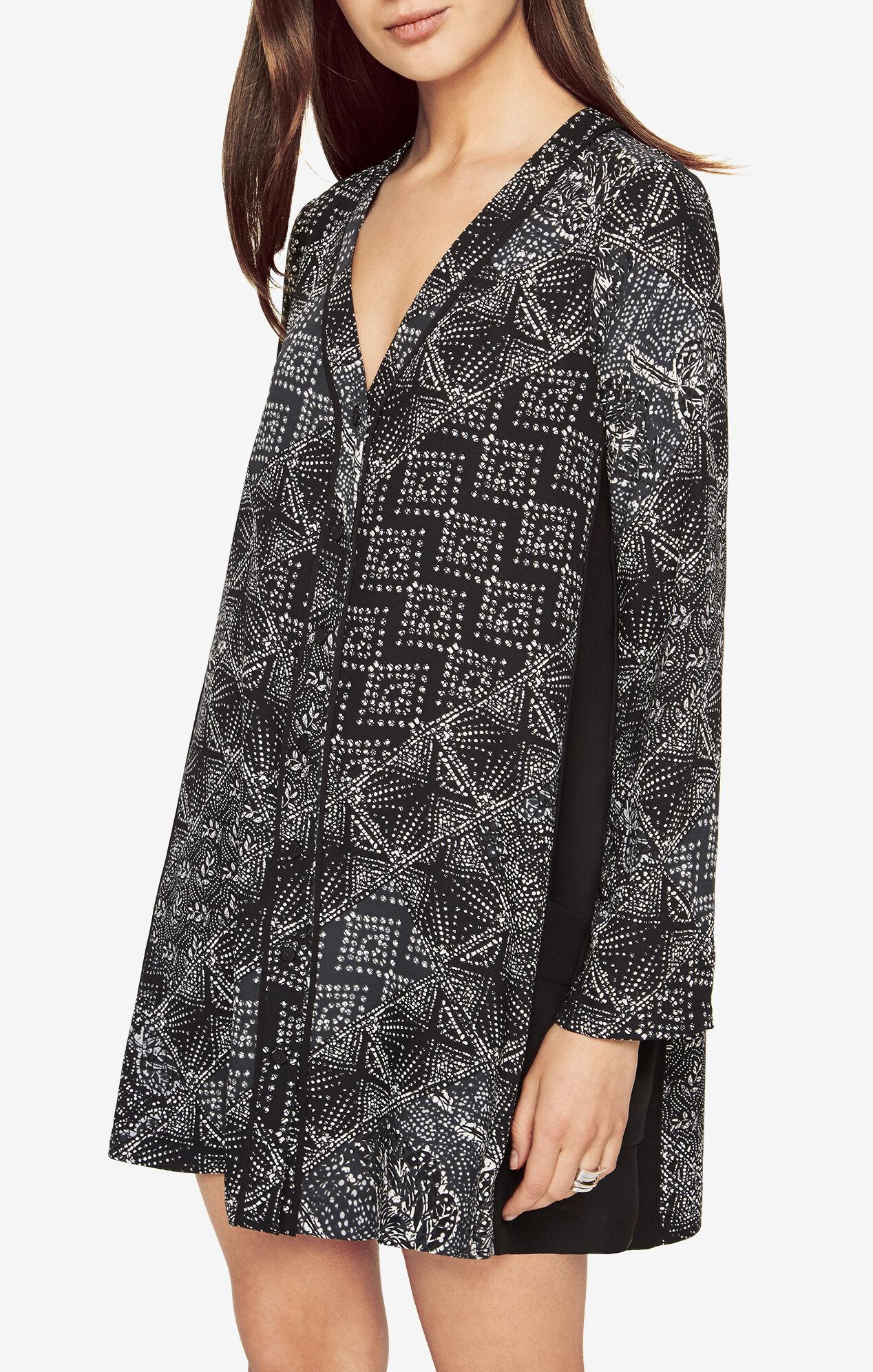 Abigale Batik-Print Dress