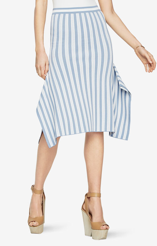 Eden Striped Skirt