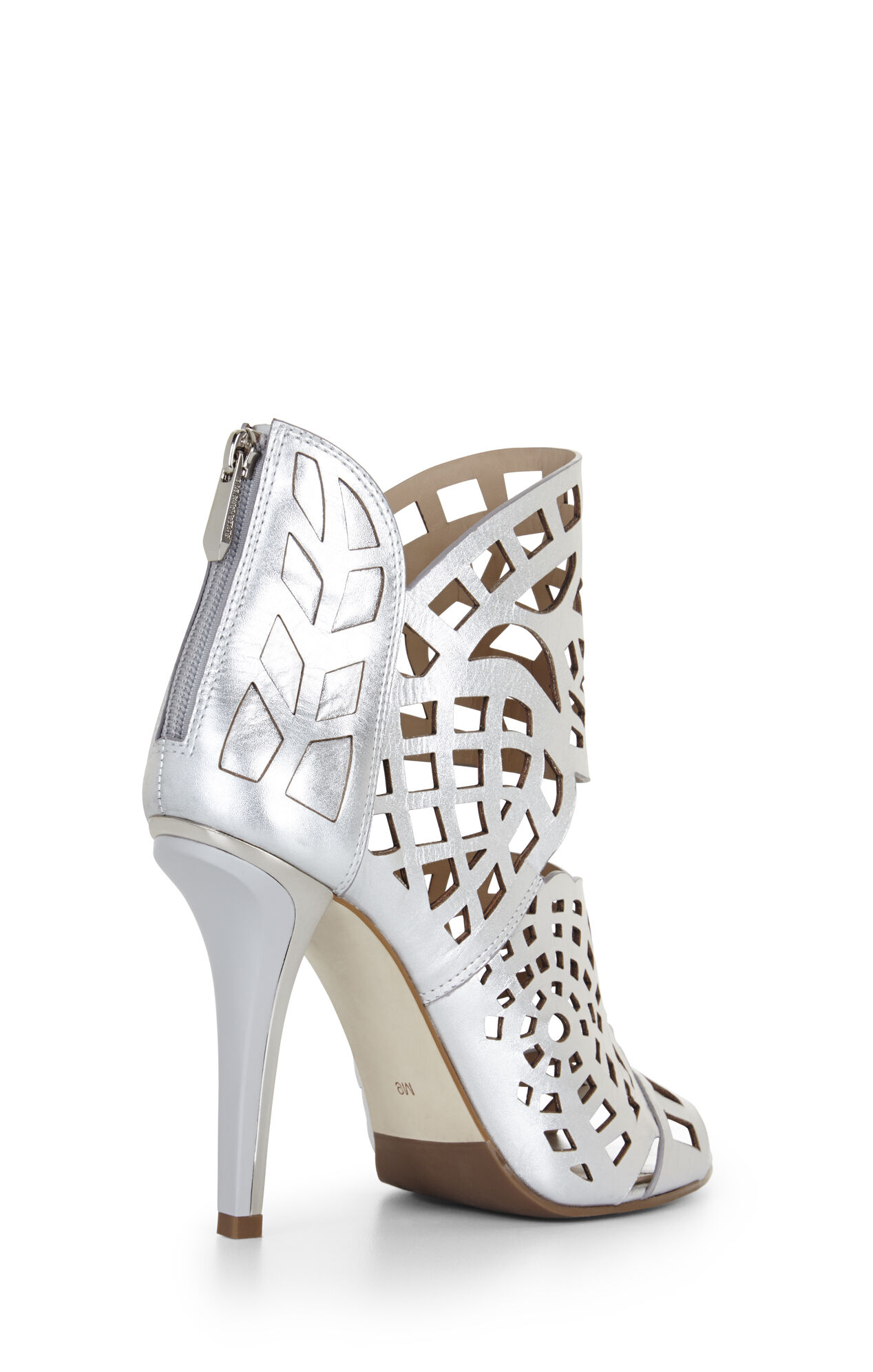 Maven High-Heel Laser-Cut Sandal