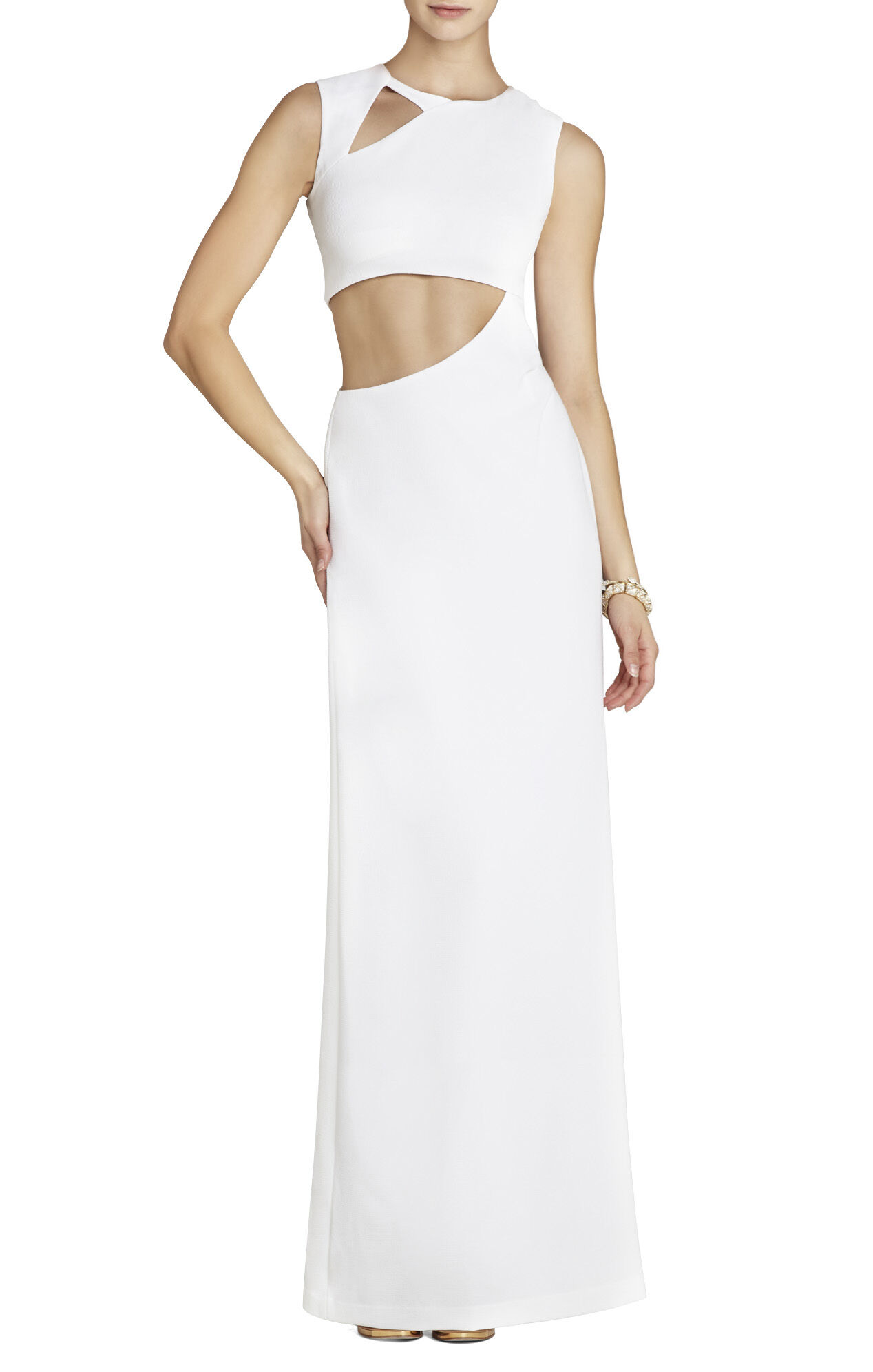 Kimora Sleeveless Cutout Gown