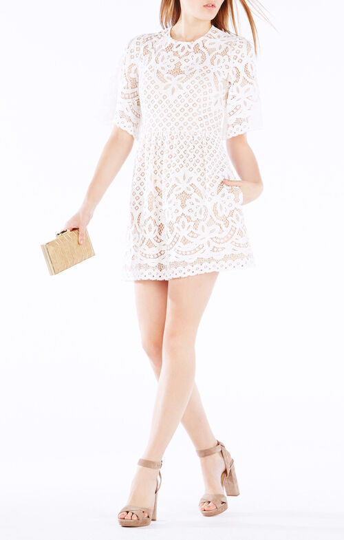 Jillyan Floral Lace Dress