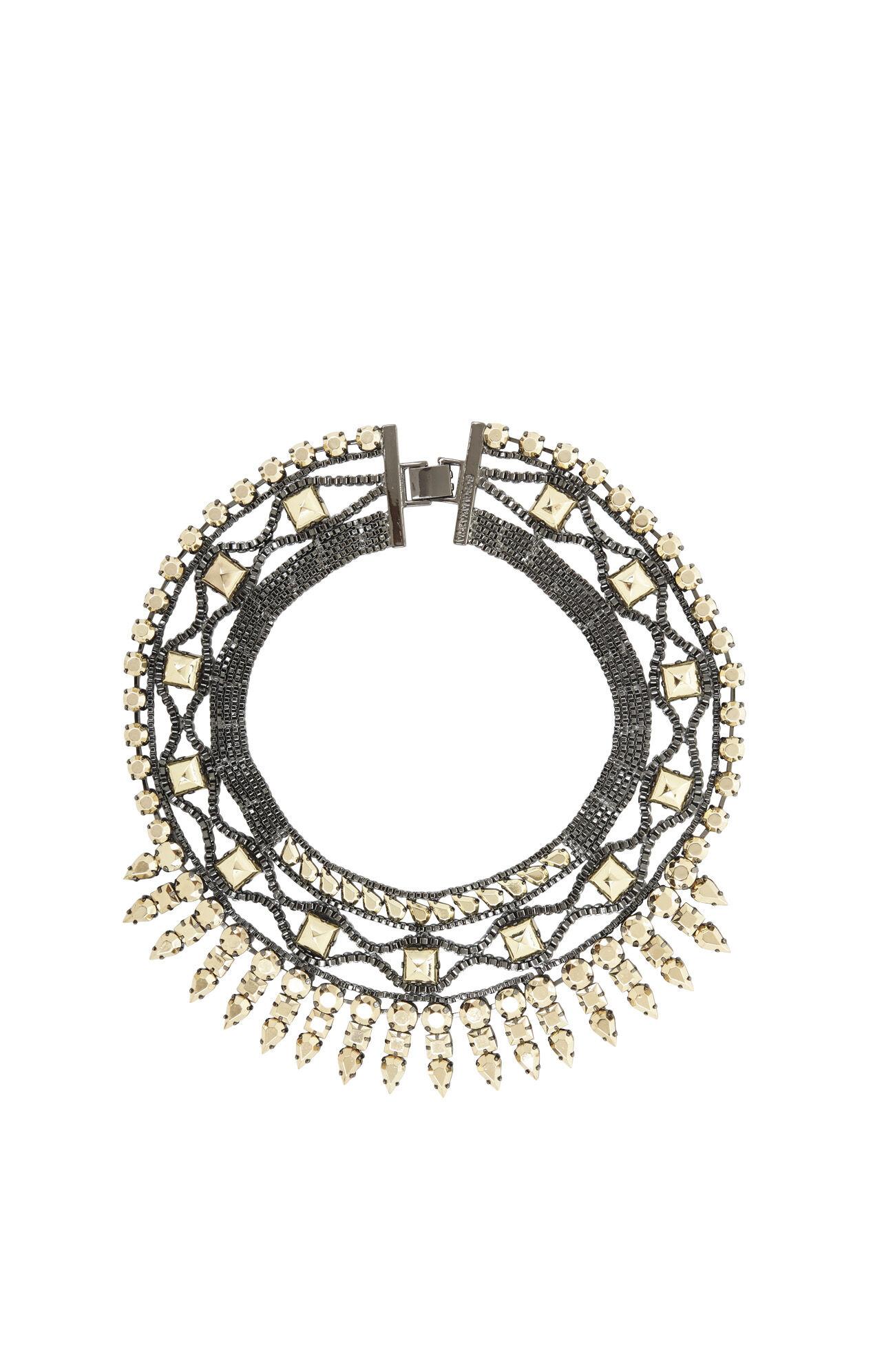 Heavy-Metal Spike Necklace