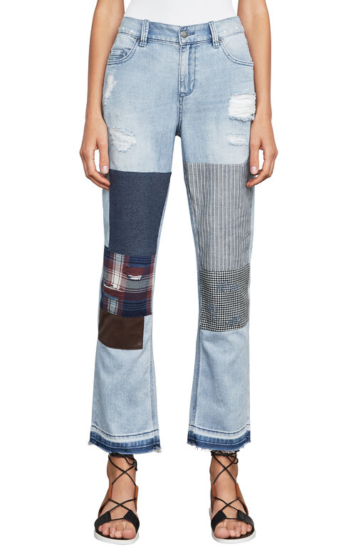 Billie Cropped Boyfriend Jeans