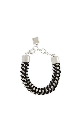 Woven Box-Chain Bracelet